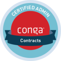 Conga Contracts Certified